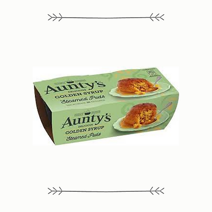 Aunty's Puddings - Golden Syrup - 2 Pack