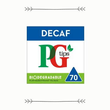 PG Tips Decaf - 70s