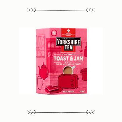 Yorkshire Tea - Toast and Jam - 40s