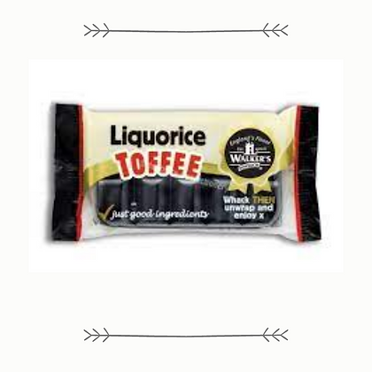 Walkers Licorice Toffee Bar