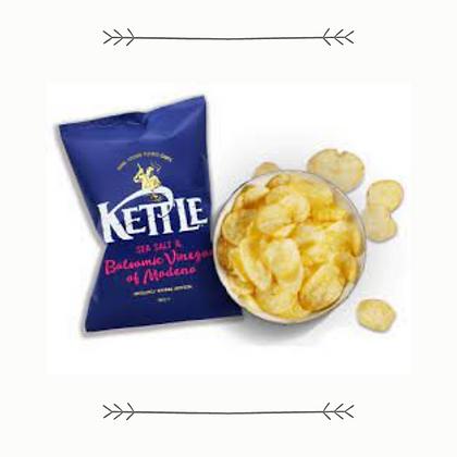 Kettle Chips - Sea Salt and Balsamic Vinegar of Modena