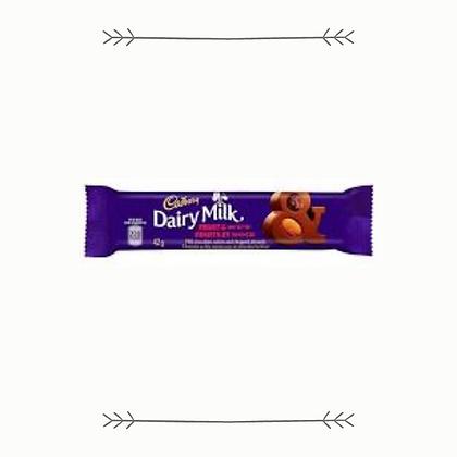 Cadbury Dairy Milk Fruit and Nut Bar