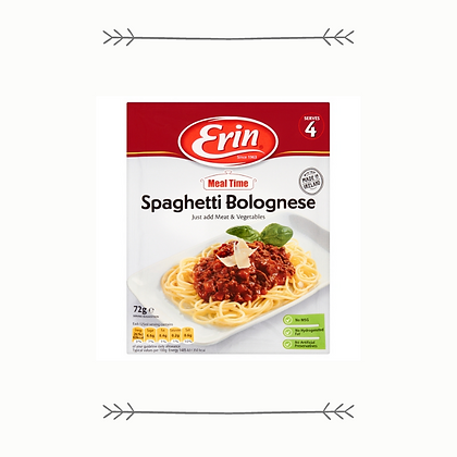 Erin Spaghetti Bolognese