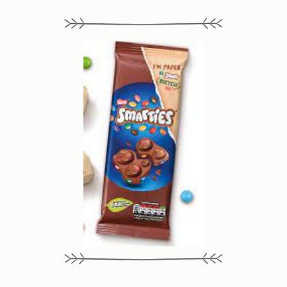 Smarties Milk Chocolate Sharing Block