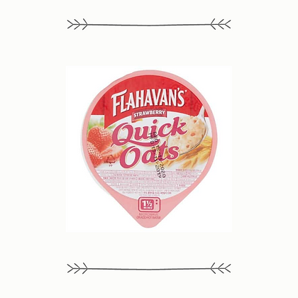 Flahavan's Quick Oats Pot - Strawberry