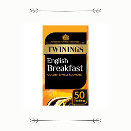 Twinings Tea - Breakfast - 50 Bags