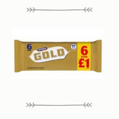 McVities Gold Bars - 5 Pack