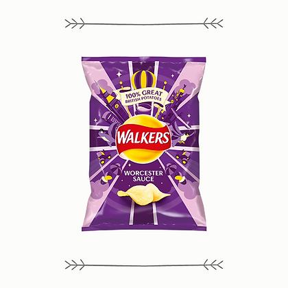 Walkers Crisps - Worcester Sauce