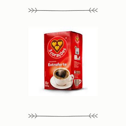 3coracoes Dark Roast Brazilian Coffee