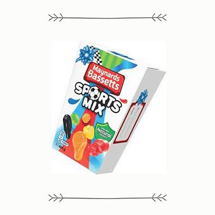 Maynards Bassetts Sports Mix Carton