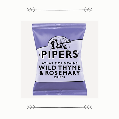 Pipers Atlas Mountains Wild Thyme and Rosemary Crisps