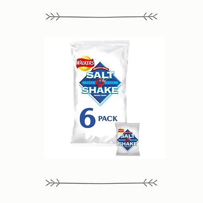 Walkers Salt and Shake Crisps - 6 Pack