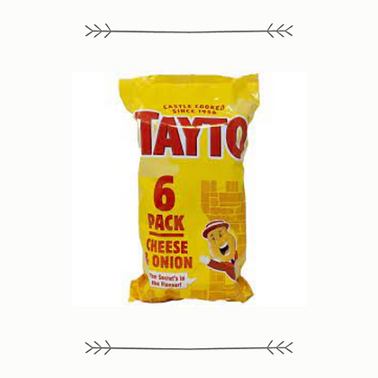 Tayto Cheese and Onion 6 Pack