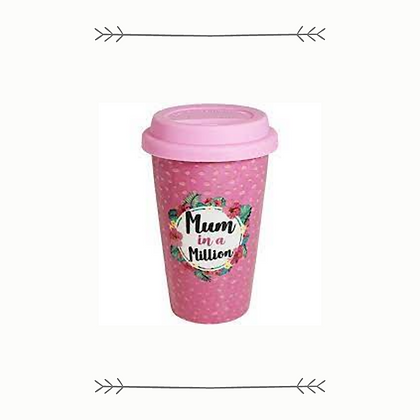 """""""Mum In A Million"""" Insulated Cup"""