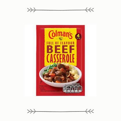 Colman's Beef Casserole