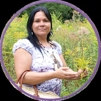 Minda Forcier herboriste intervient en milieu scolaire grâce à Kina8at