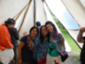 Activité traditionnelle autochtone au Jardin des Premières Nations de Montréal, offerte par l'Organisme Kina8at