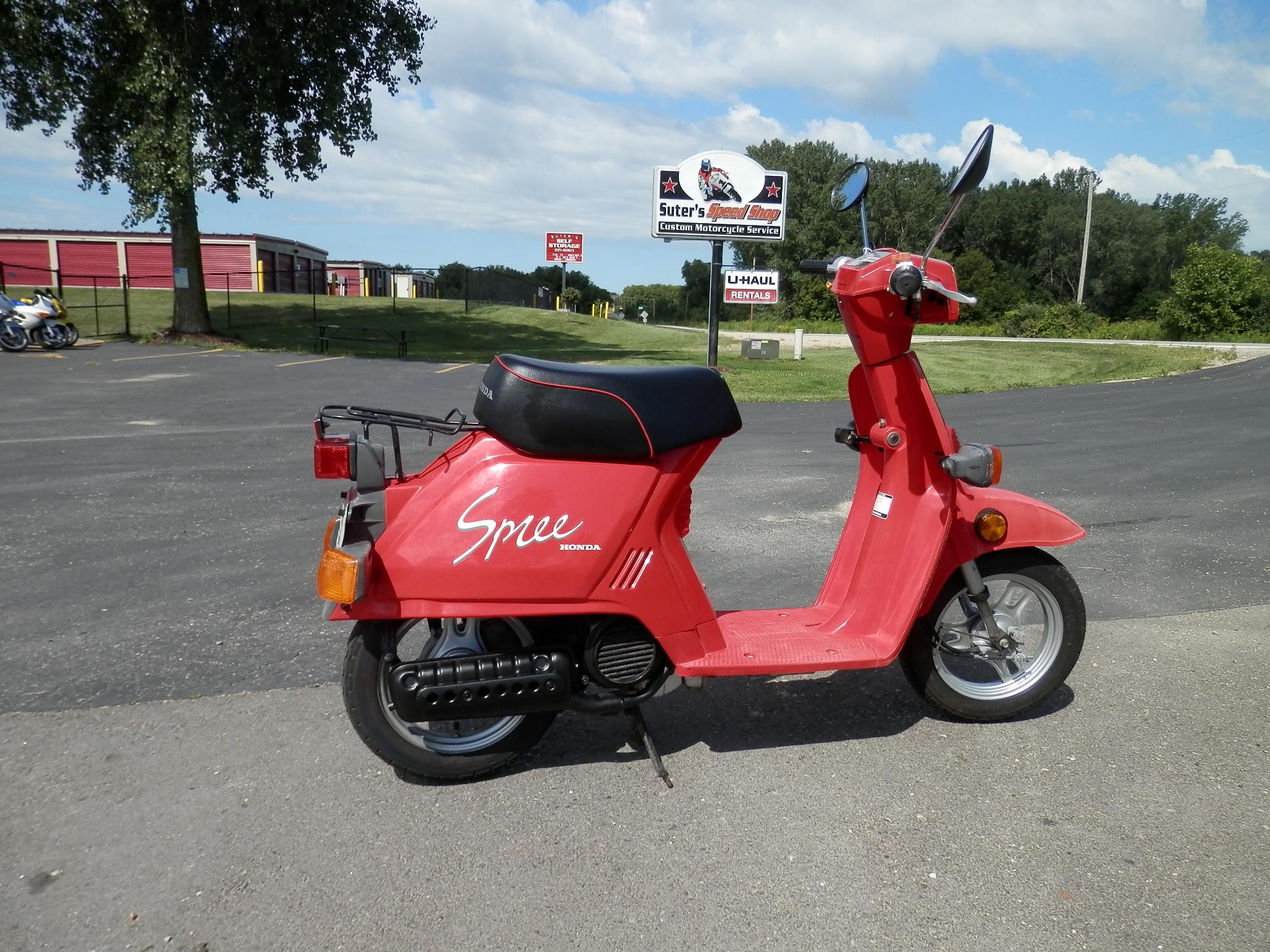 honda kayla watch an driving tries scooter spree