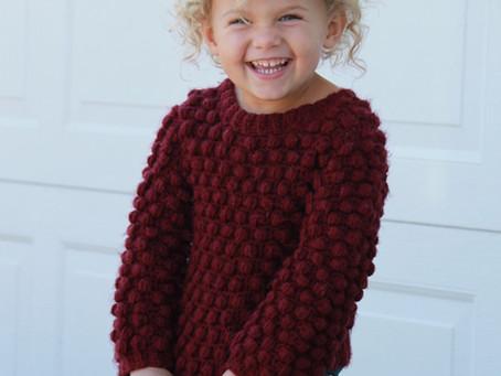 Child Bobblicious Sweater