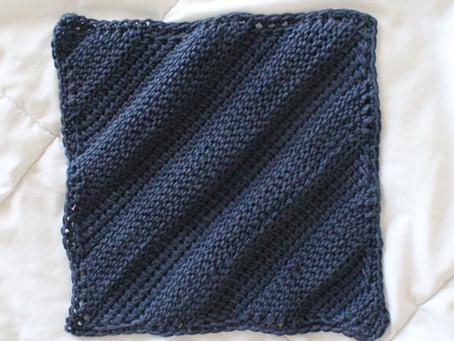 Farmer's Field Square - FREE Tunisian Crochet Pattern