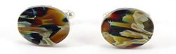 Amber cufflinks P109