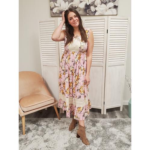 """Katie"" Floral Maxi Dress"