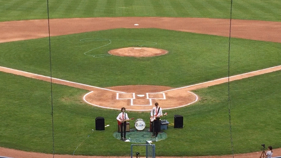 The Rockyts - Pre-Game Show on the Field at RCGT Stadium
