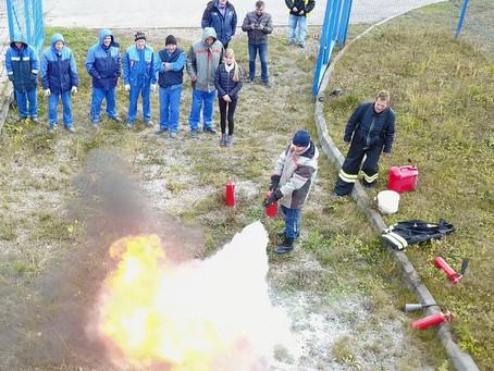 Основные правила практических тренировок по эвакуации людей при пожаре