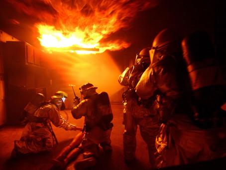 Разработка плана тушения пожара на объекты защиты