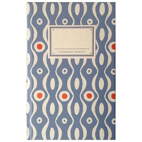 Notebook - Cornflower & Red Persephone