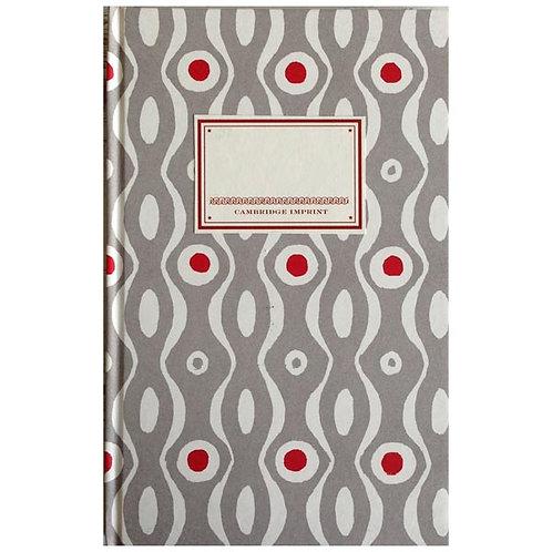 Notebook - Grey & Crimson Persephone