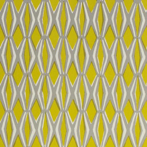 Smocking - Yellow & Grey
