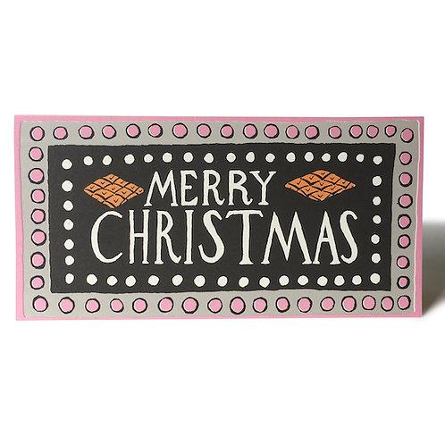 Merry Christmas Long Charleston - 6 Pack