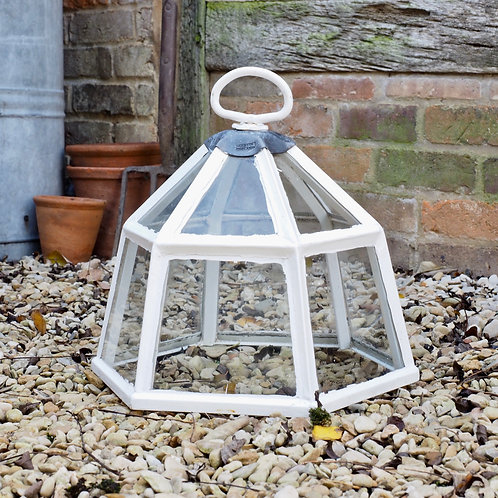 lantern cloche, antique cloche, garden cloche, kitchen garden,  vegetable garden,
