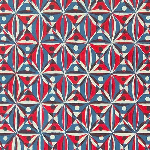 Kaleidoscope - Red & Blue
