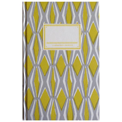 Notebook - Yellow & Grey Smocking