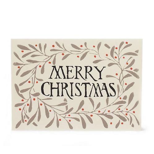 Merry Christmas Mistletoe - 10 Pack