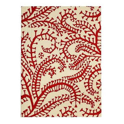 Pocket Notebook - Crimson Seaweed