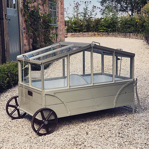 Mobile greenhouse, mobile cold frame, kitchen garden, victorian. greenhouse,  kitchen garden, walled garden, victorian garden