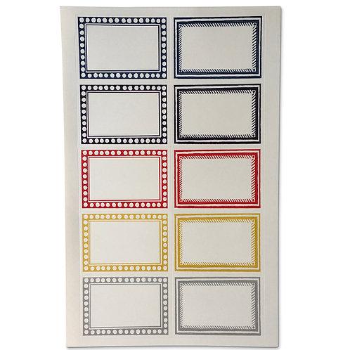 Large Self-Adhesive Labels - 20 Pack