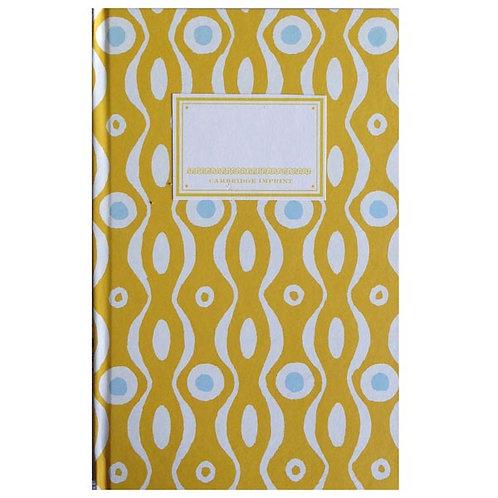 Notebook - Mustard & Turquoise Persephone