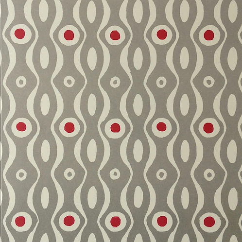 Persephone - Grey & Crimson