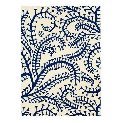 Pocket Notebook - Prussian Blue Seaweed
