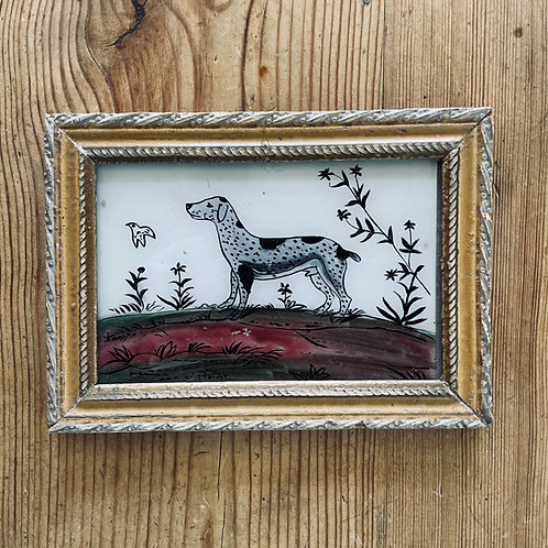 Dog Glass Painting
