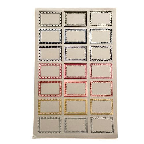 Medium Self-Adhesive Labels - 42 Pack