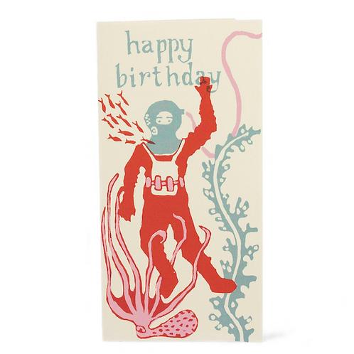 Happy Birthday - Diver