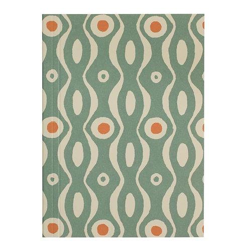 Pocket Notebook - Teal & Orange Persephone