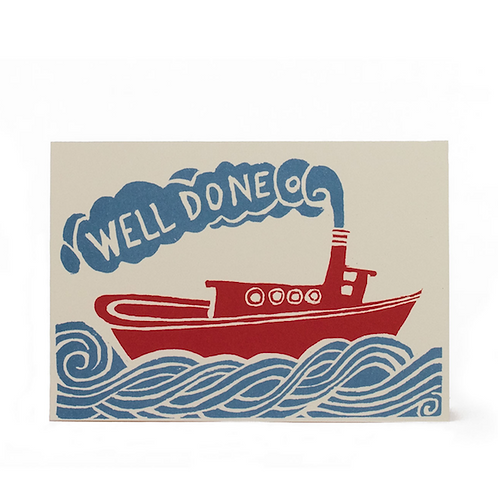 Well Done Tug Boat