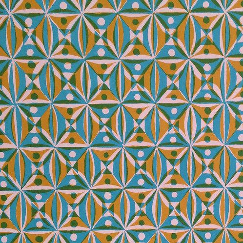 Kaleidoscope - Yellow & Blue
