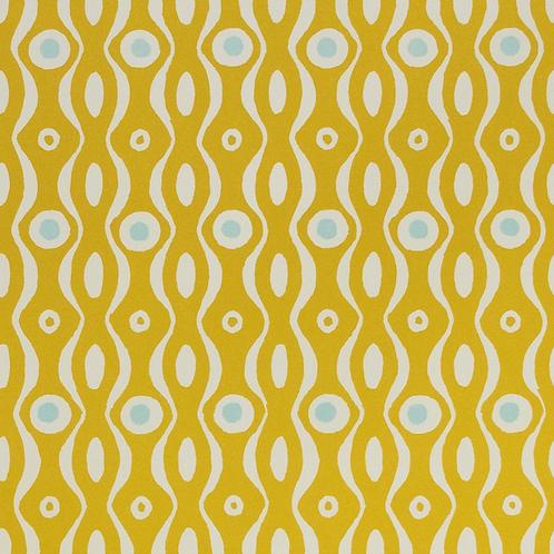 Persephone - Mustard & Turquoise